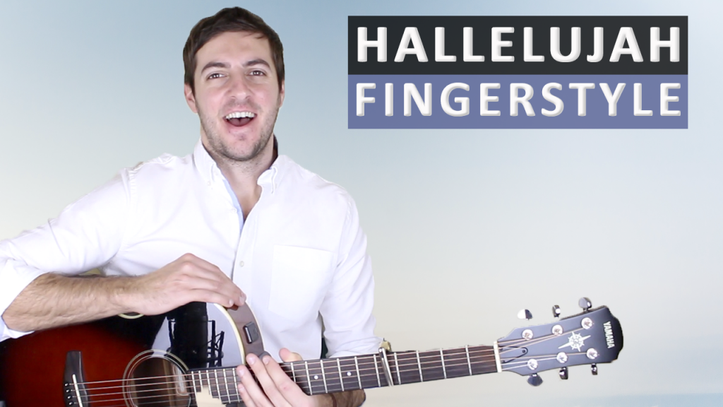Hallelujah By Jeff Buckley Fingerstyle Guitar Lesson