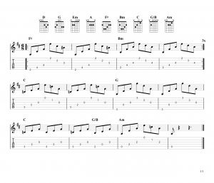 how to play everybody hurts on guitar