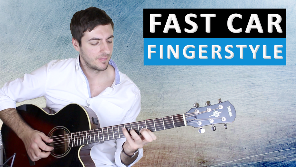 Fast Car By Tracy Chapman Fingerstyle Guitar Lesson - Tracy chapman fast car guitar