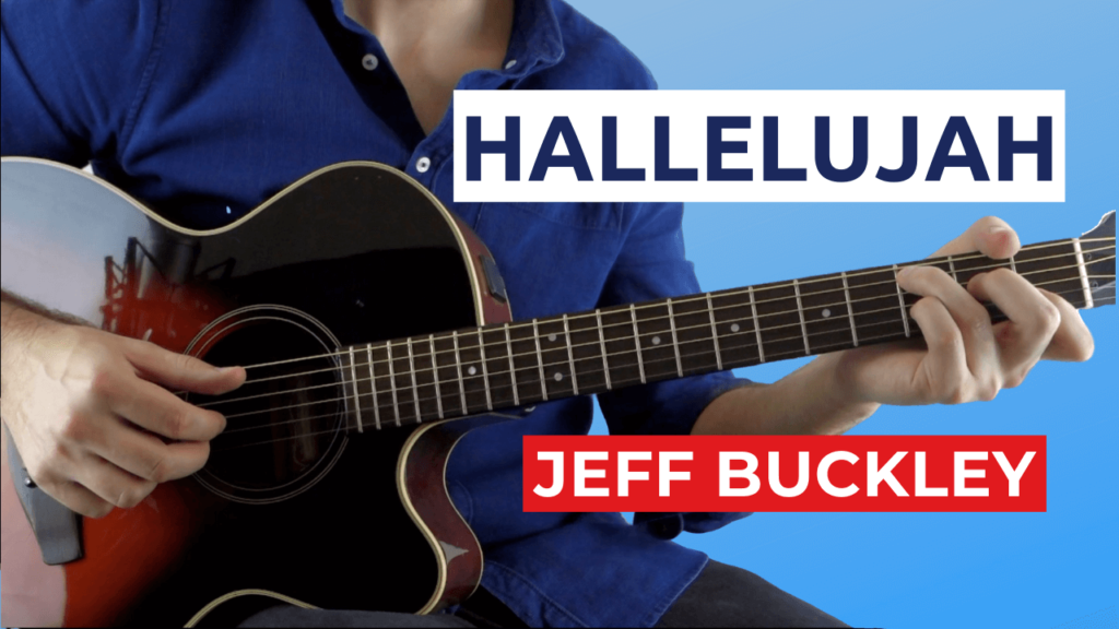 Hallelujah Guitar Lesson with Tabs