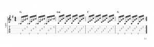 Fingerpicking Pattern 10