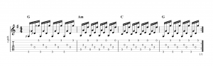 Fingerpicking pattern 14