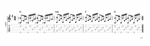 Fingerpicking pattern 16
