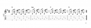 Fingerpicking pattern 18