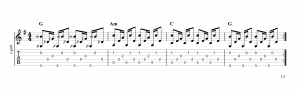 Fingerpicking pattern 19