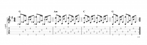 Fingerpicking pattern 20