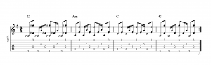 Fingerpicking Pattern 22