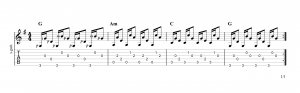 Fingerpicking Pattern 23