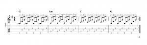 Fingerpicking Pattern 26