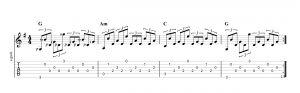 Fingerpicking Pattern 31