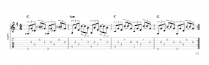 Fingerpicking Pattern 32