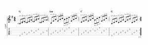 Fingerpicking Pattern 34