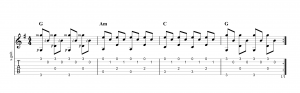 Fingerpicking Pattern 42