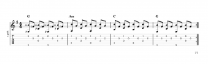 Fingerpicking Pattern 43