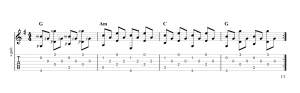 Fingerpicking Pattern 45
