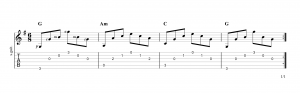 Fingerpicking Pattern 46