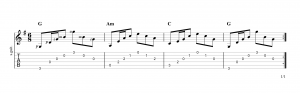 Fingerpicking Pattern 47