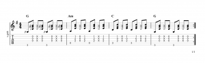 Fingerpicking Pattern 50