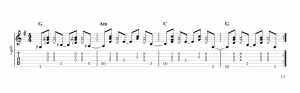 Fingerpicking Pattern 54