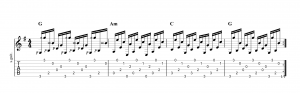 Fingerpicking Pattern 57