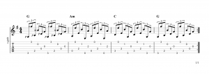 Fingerpicking Pattern 59