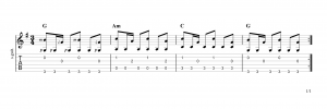 Fingerpicking Pattern 61