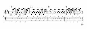 Fingerpicking Pattern 69