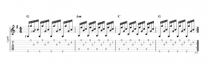 Fingerpicking Pattern 7