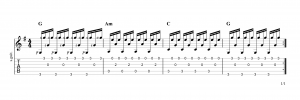 Fingerpicking Pattern 71