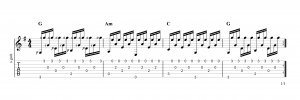 Fingerpicking Pattern 72