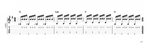 Fingerpicking Pattern 81