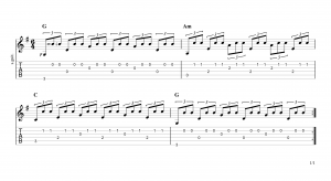 Fingerpicking Pattern 82
