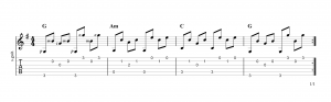 Fingerpicking Pattern