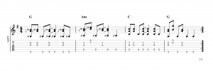 Fingerpicking Pattern 99