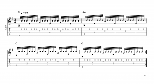 Tremolo Fingerpicking Patterns
