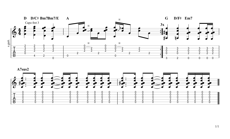 fire and rain chorus