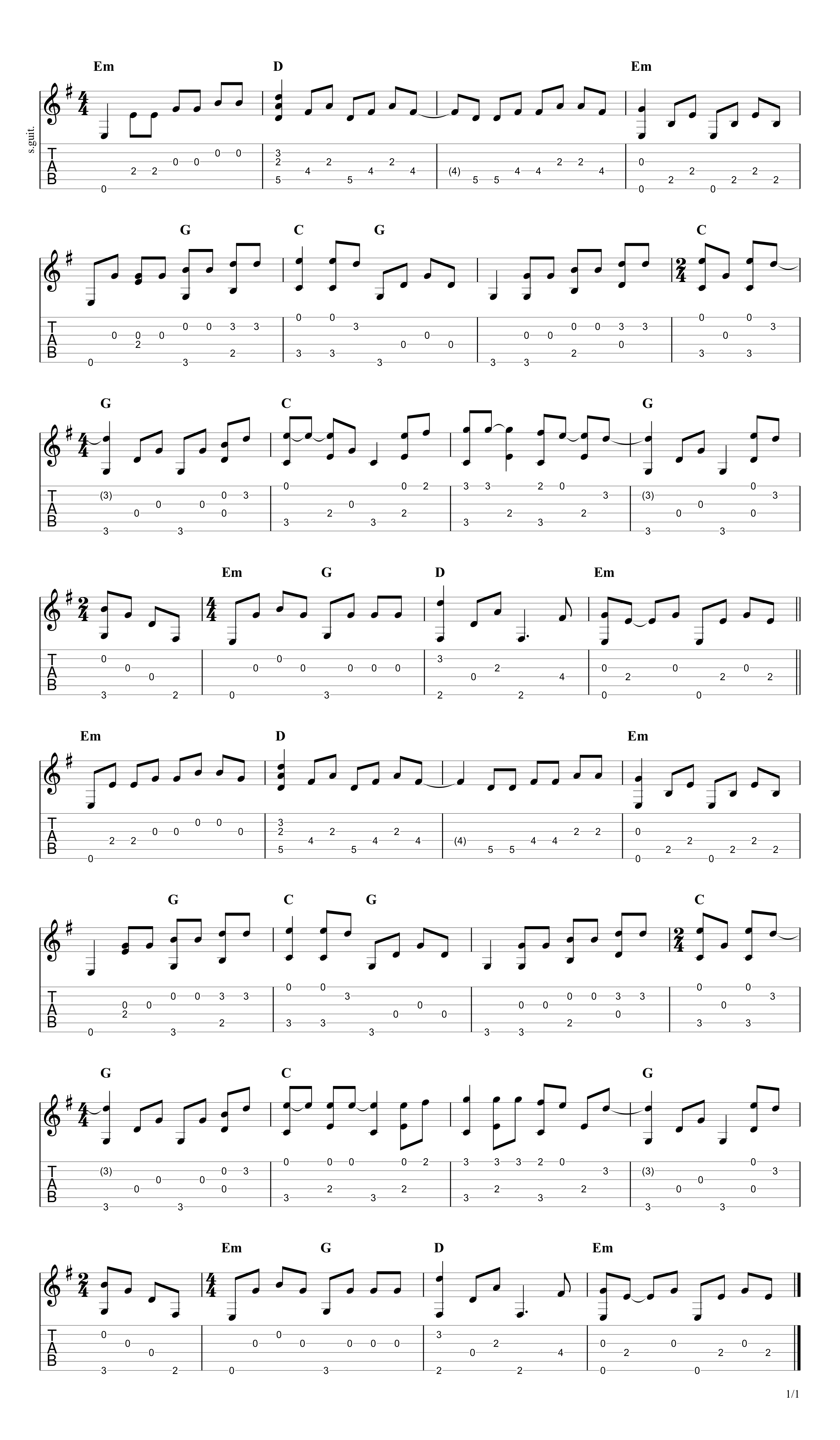 How To Play The Sound Of Silence On Guitar Fingerstyle Arrangement