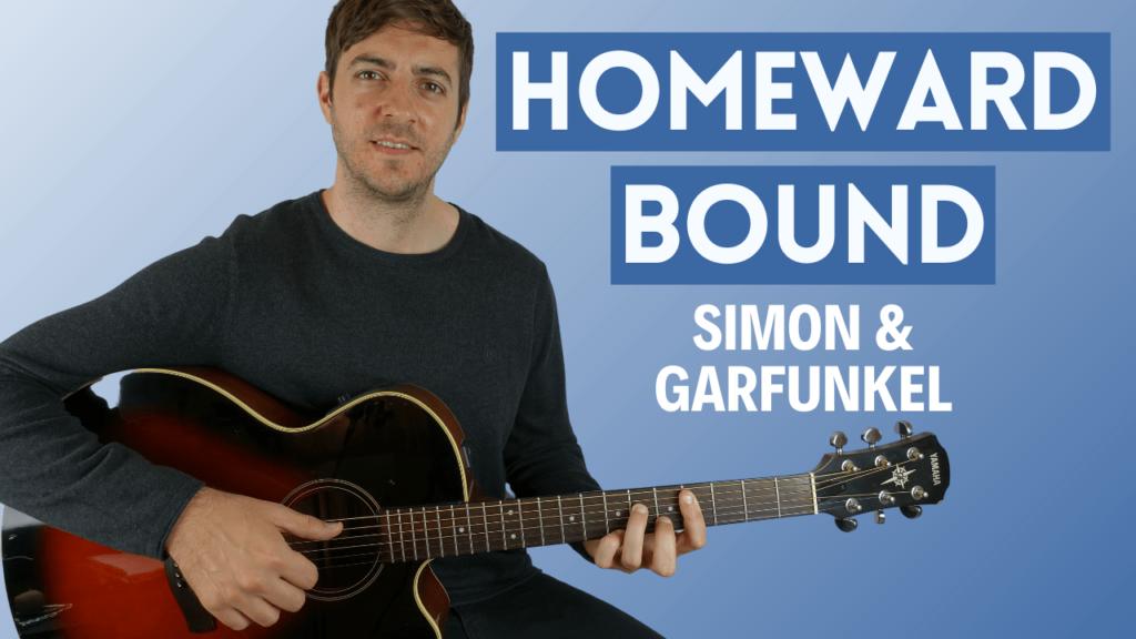 Homeward Bound Fingerstyle Guitar Lesson