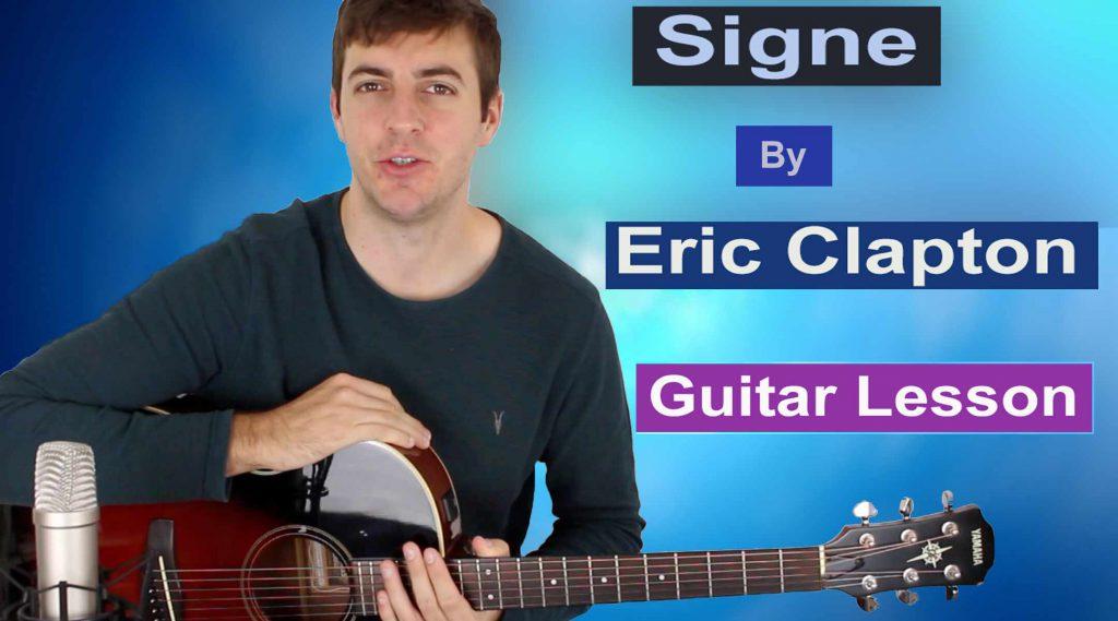 Eric Clapton Signe