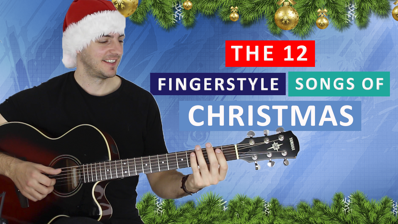 12 fingerstyle songs of Christmas