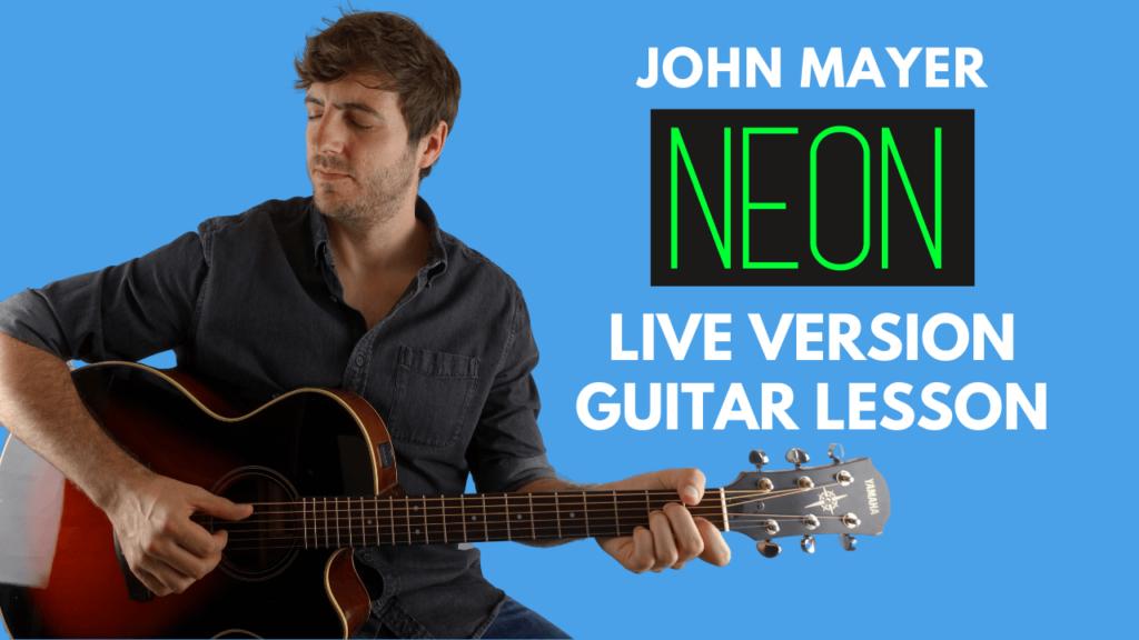 Neon Guitar Lesson