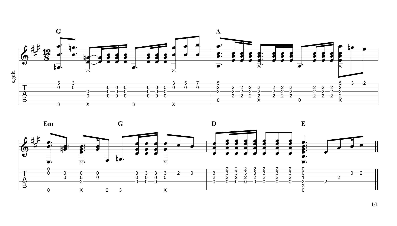 Happy Xmas (War is Over) Guitar Tab