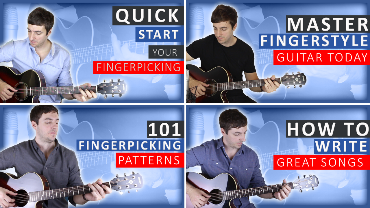 Fingerstyle Course Bundle (35% OFF)