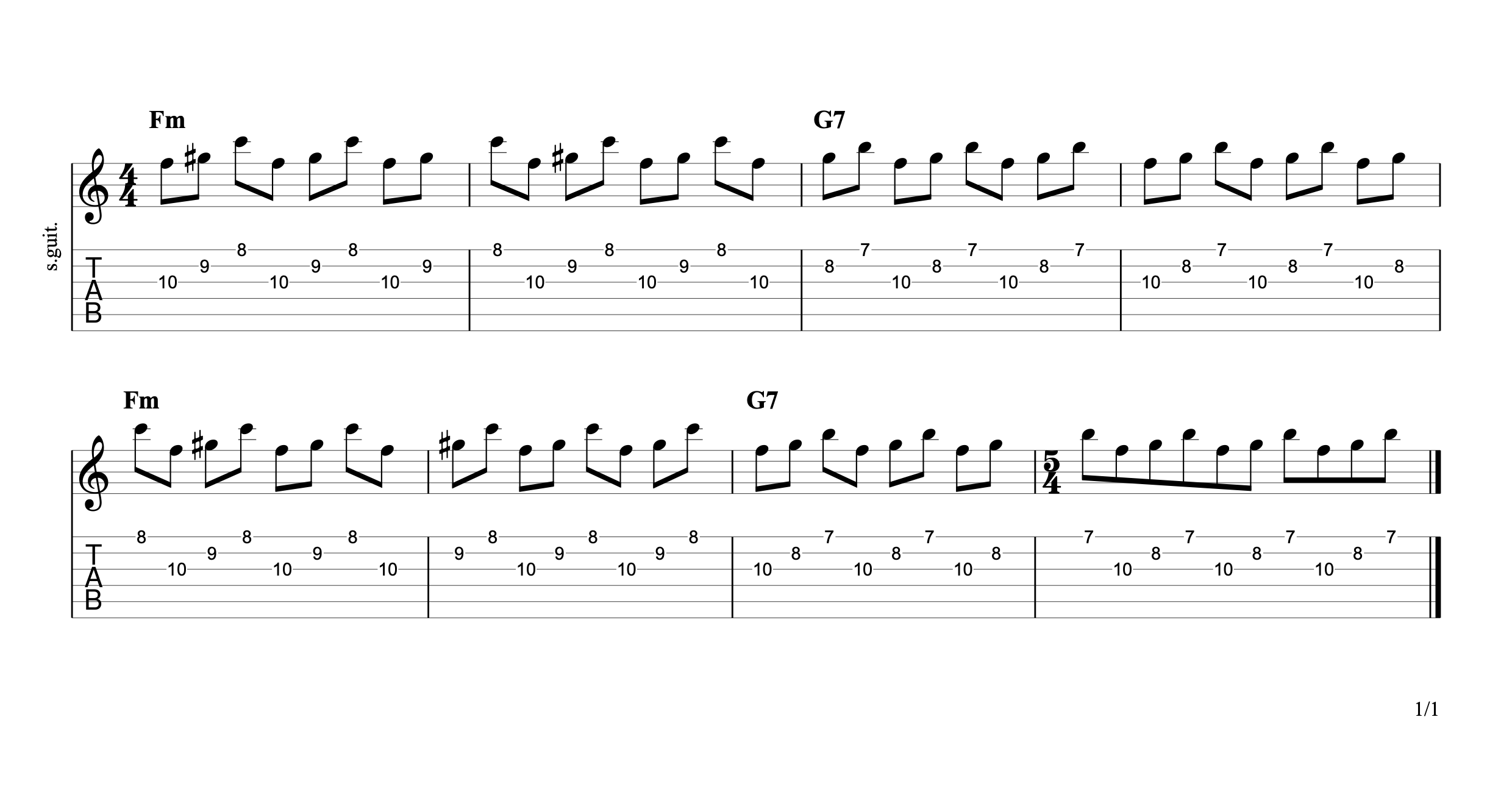 Don't Fear The Reaper Bridge Guitar Tab
