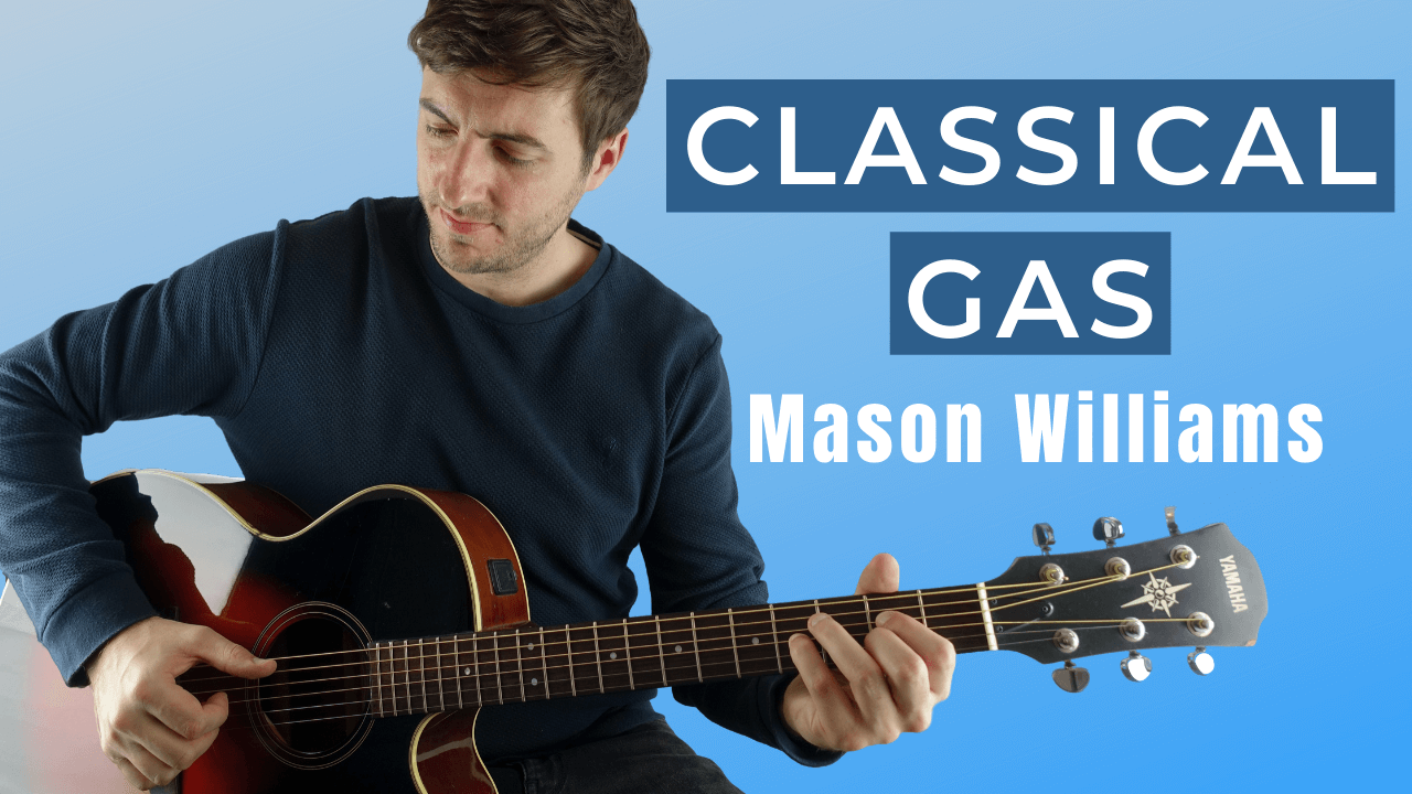 Classical Gas Guitar Lesson with Tabs