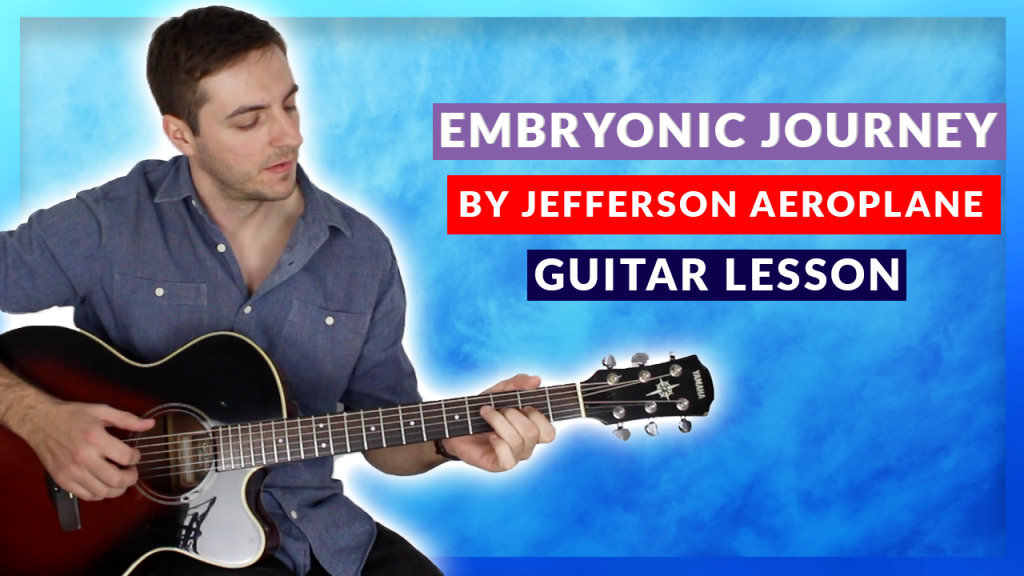Embryonic Journey Guitar Tab