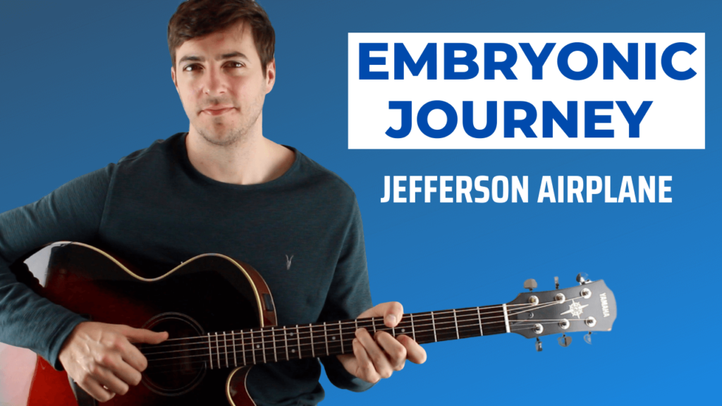 Embryonic Journey Guitar Lesson