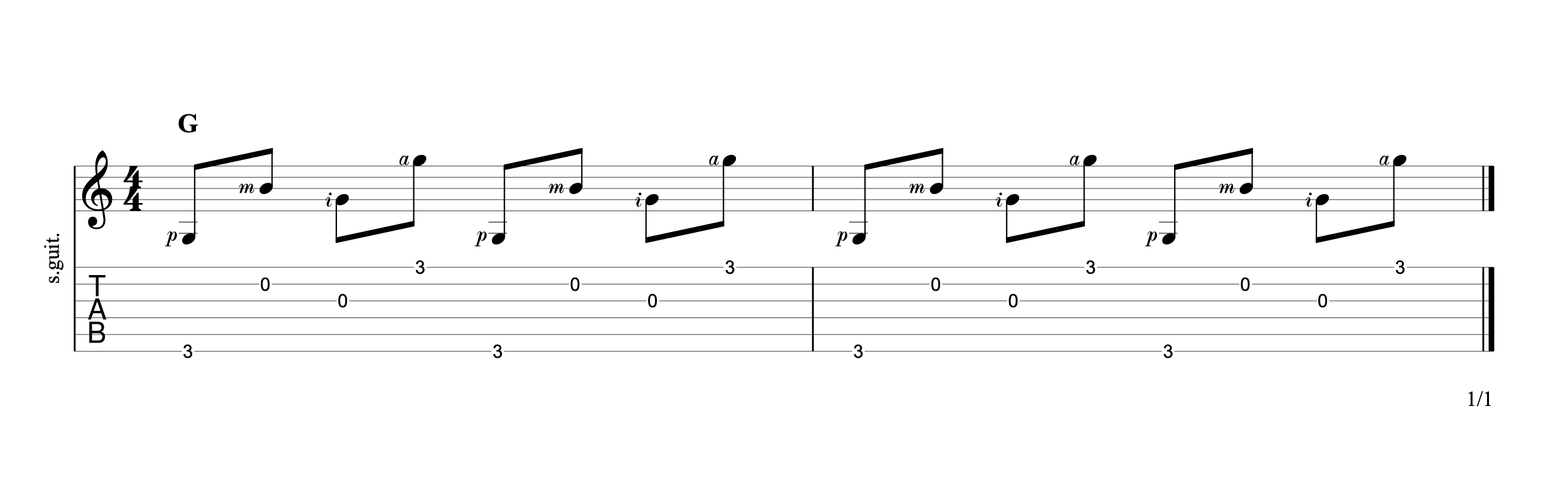 Fingerpicking Chords p7