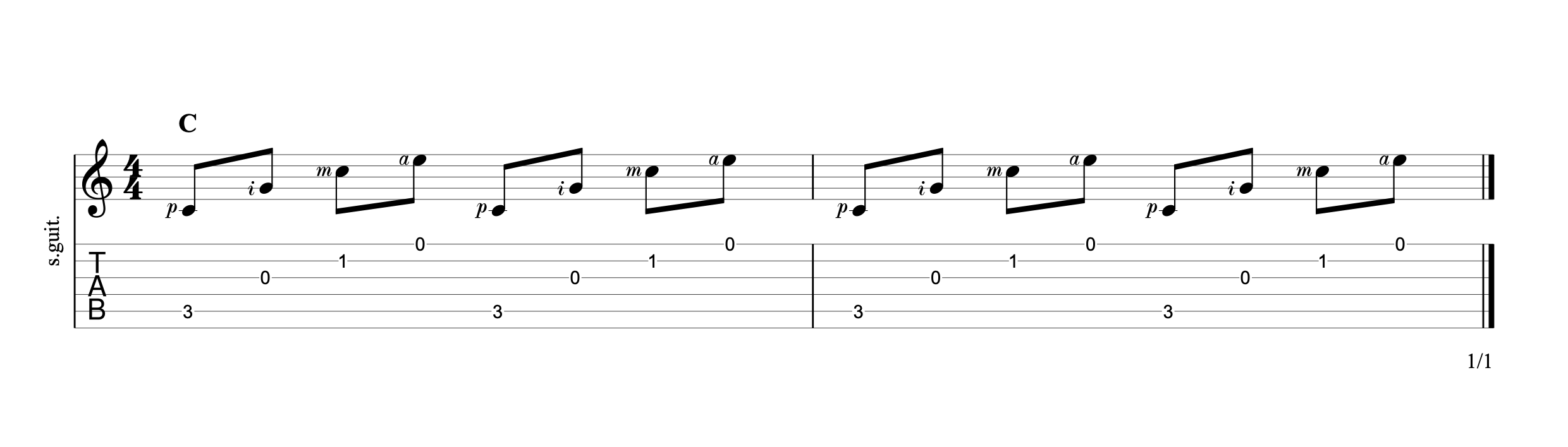 Fingerpicking Chords p2