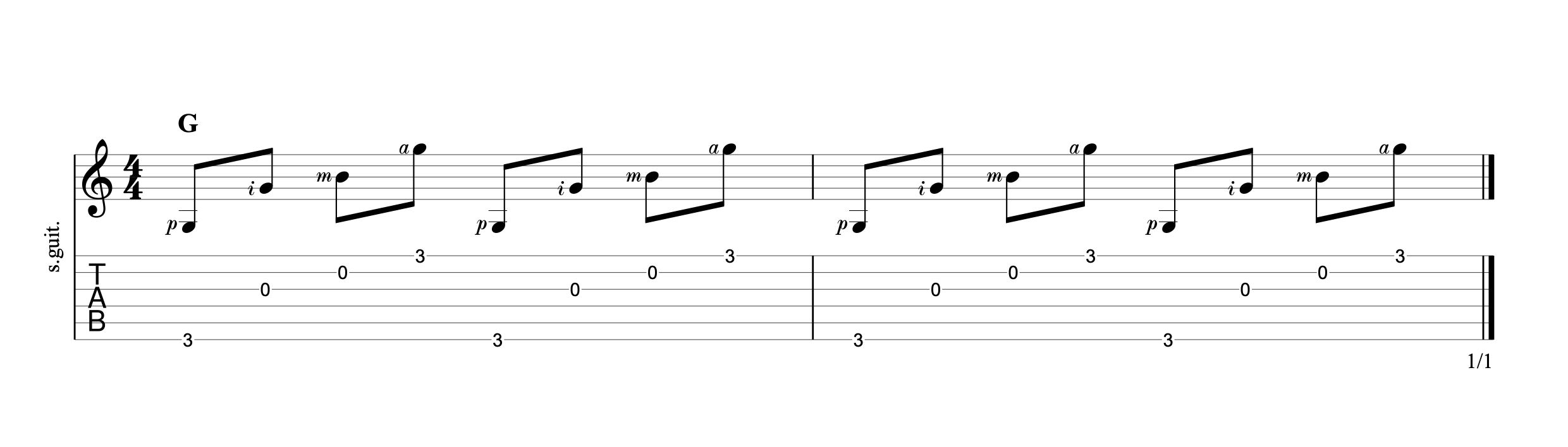 Fingerpicking Chords p3